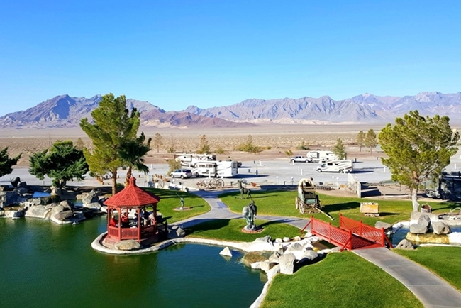 RV Park near Amargosa Valley